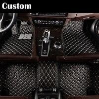 Custom Fit Car Floor Mats Pu For Ford Edge Escape Kuga Fusion Mondeo Ecosport Explorer Focus