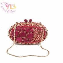 Ladies Delicate Turquosie Gem Evening Clutch Purse Designer Evening Clutches Women Messenger Bag Hand Purse YLS-J10