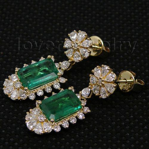 emerald earrings-2