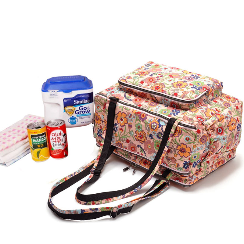 Mother Bags Baby Diaper Stroller Bag for New Mom Maternity Multifunctional MOM Single Nappy Bag Baby Care for Mummy Fashion new multifunctional diaper bags mother bag high quality maternity mummy nappy bags flower style mom handbag baby stroller bag
