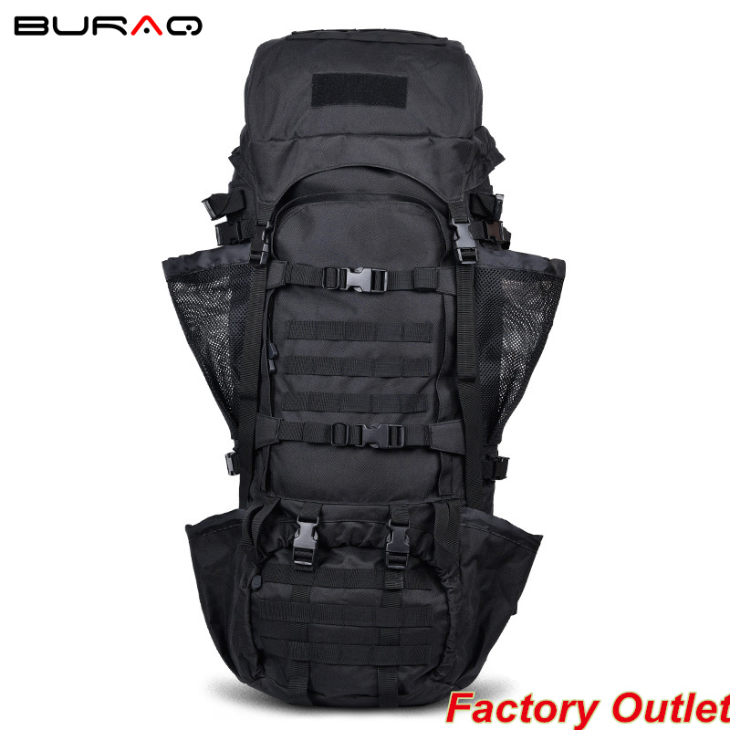 110L CS Force Men's Canvas Backpack Vintage Military Backpacks Schoolbag Hiking Camping Camouflage Backpack Travel Bag Typhon 3pmy7041 men s outdoor canvas backpack vintage military tactical backpacks schoolbag hiking camping camouflage backpack