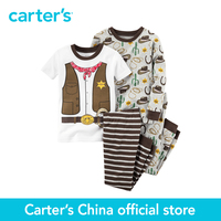 Carter's 4 pcs baby children kids Snug Fit Cotton PJs 321G180, sold by Carter's China official store