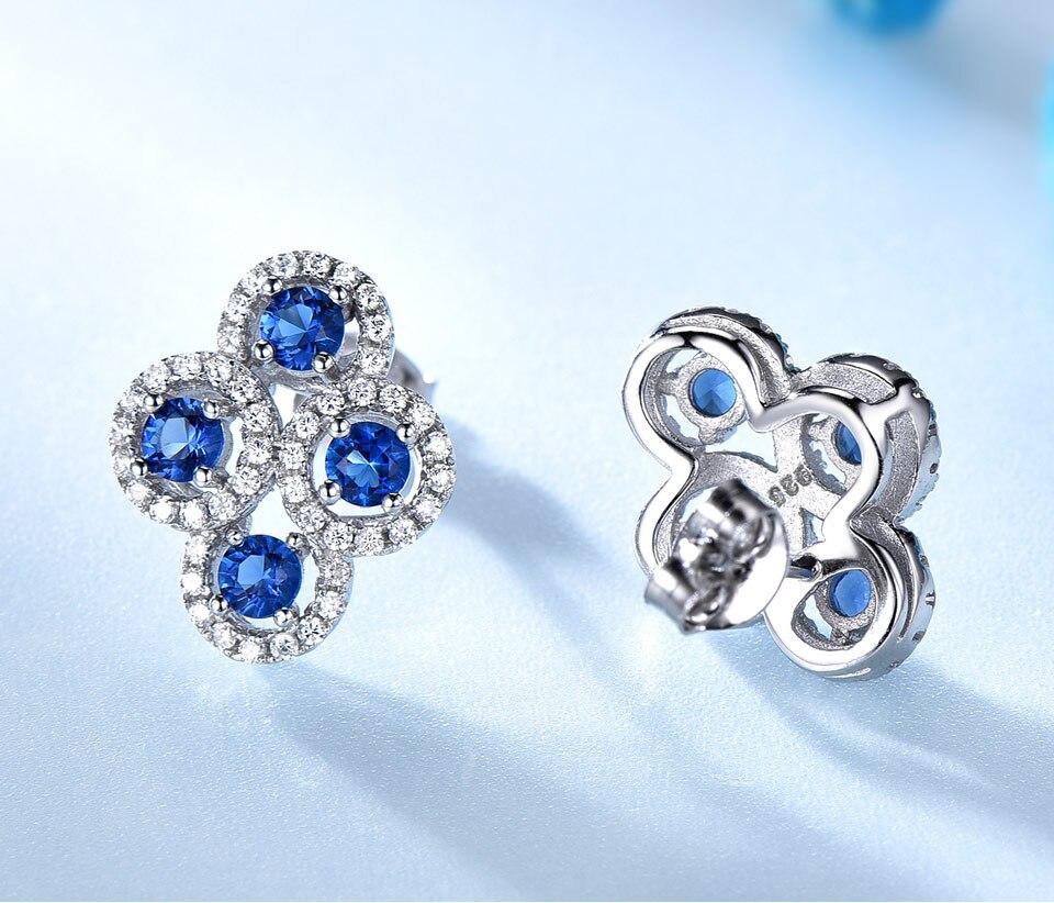 sapphire stud earrings for women fin jewelry (3)