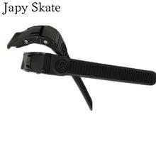 Japy skate powerslide evo fivela superior reforçar edição slalom patins sapato ballet fivela de patinação sapatos correia energia
