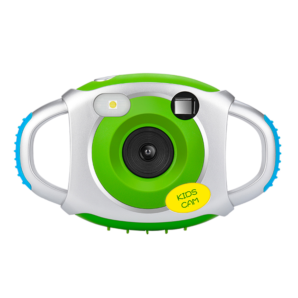 Kids Camera Pcam PP-CDFP Children Digital Video Camera with Soft Silicone Protective Shell YH-17