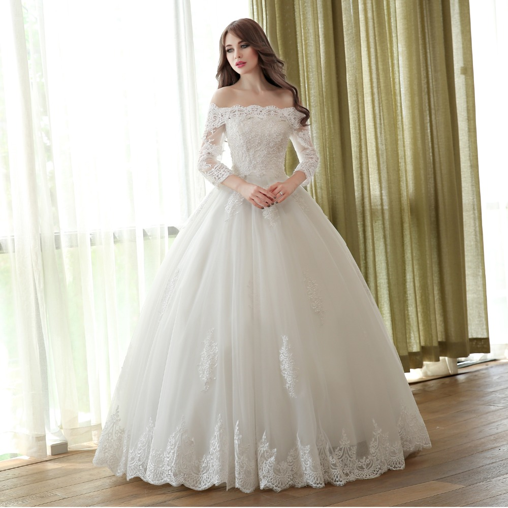 Compare Prices on Simple Muslim Bridal Dresses- Online Shopping ...