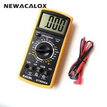 NEWACALOX Digital Multimeter DT9205A LCD AC DC AMP Automatic Range Multimeter Ammeter Resistance Capacitance Meter Repair Tool
