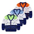 Baby cardigan sweaters V collar jacket 2017 children autumn sweater sweater coat children