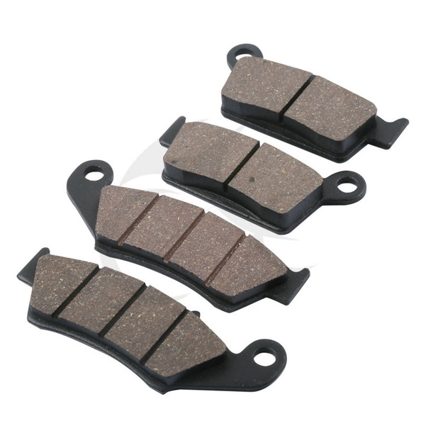 4 PCS Front Rear Brake Pads For HONDA XR400 XR400R XR440R XR600 XR650L XR650R CRF 230F