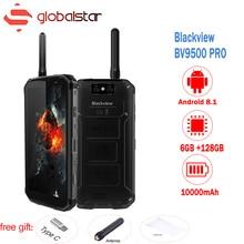 Blackview BV9500 Pro Android 8.1 10000mAh IP68 Waterproof 5.7″18:9 global version Smartphone 6GB 128GB MT6763T Hardware intercom