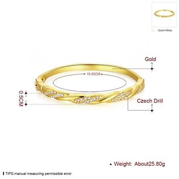 5.1cm Bracelet Unique Design Jewelry Accessories Gold Plated K Gold Plated Bracelets Z003-A Good Quality Nickle Free Ant