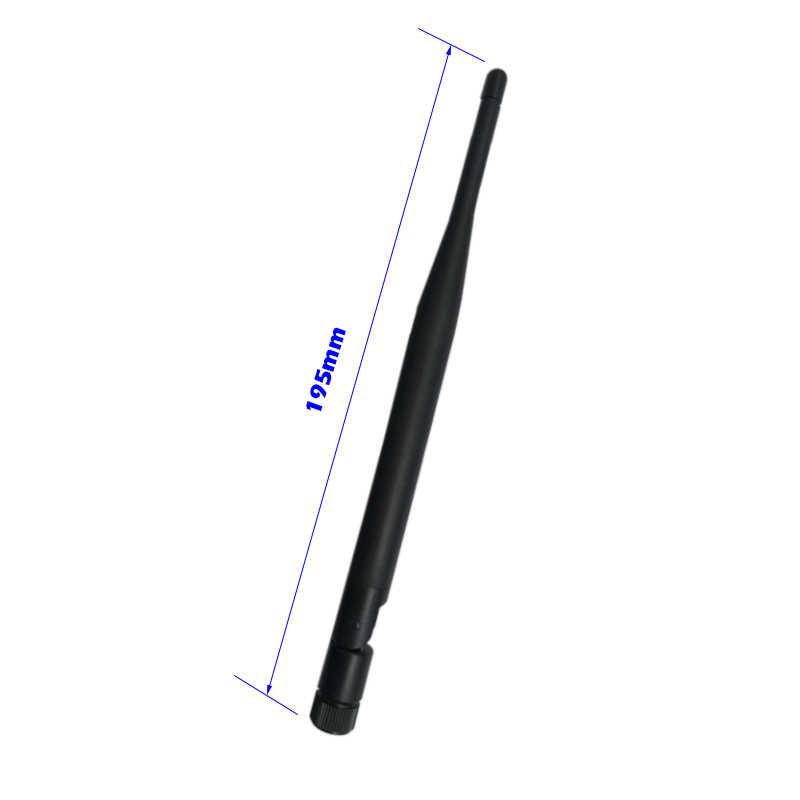 5 dbi Antena WIFI de doble banda 2,4 GHz 5 GHz 5,8 GHz conector RP SMA para enrutador de red inalámbrica Universal amplificador Siganl de refuerzo