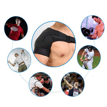 Adjustable Left/Right Shoulder Support Bandage Protector Brace Joint Pain Injury Shoulder Strap