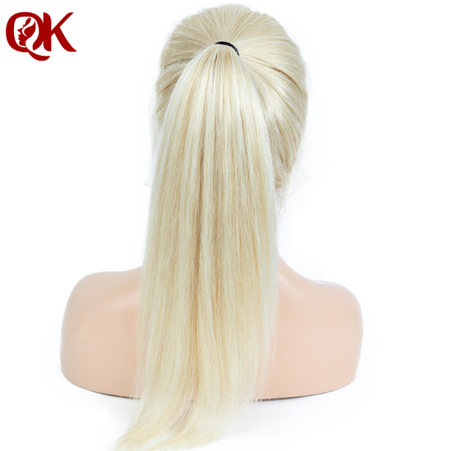 QueenKing włosy brazylijski włosów ludzkich włosy blond 130% gęstości pełne koronki 613 Silky prosty Remy peruki dla kobiet darmowa nocną wysyłką