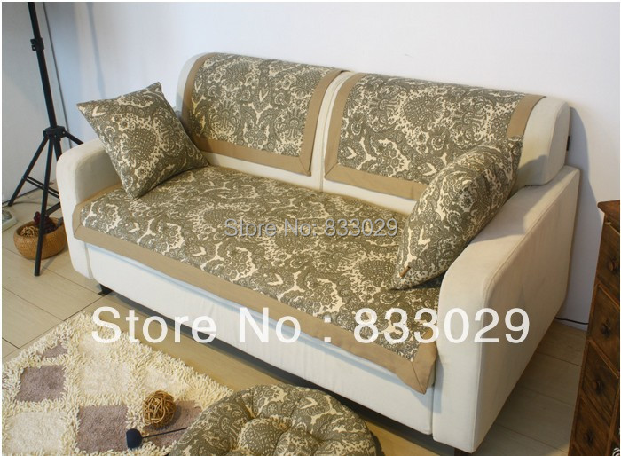 good quality europe style sofa towel cover for one seat