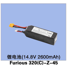 Original Walkera 14.8V 2600mAh 25C(4S) Battery for Walkera Furious 320 RC Drone Furious 320(C)-Z-45 Free Shipping