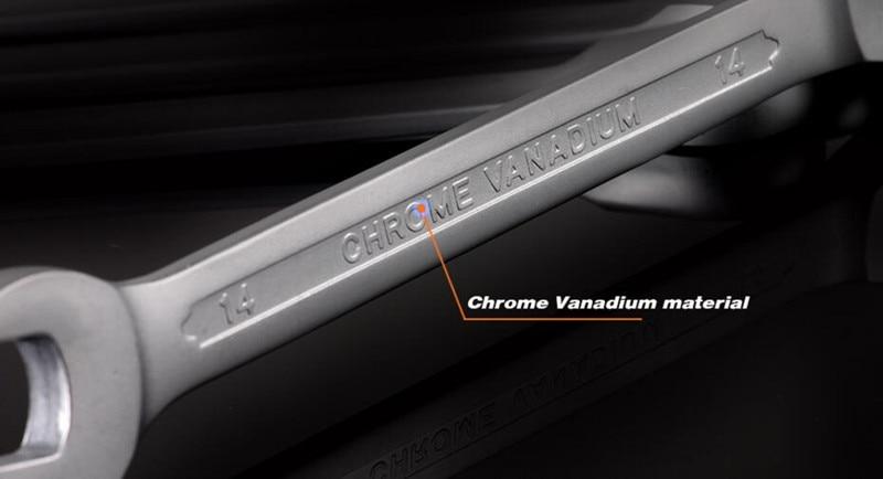 YOFE 8-13 mm-es 6db-os univerzális racsnis kulcs, autójavító - Szerszámkészletek - Fénykép 4