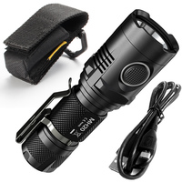 SALE NITECORE MH20 MH20W 1000Lumen CREE XM L2 U2 LED Rechargeable Flashlight Without Battery Waterproof Led