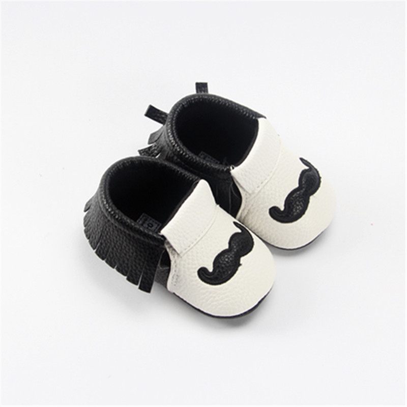 2 PCs Baby Socks Newborn Gentleman Shoes Sets Shoes + Socks Baby Spring Autumn PU Shoes Cotton Socks Toddle Infant Soft Shoes