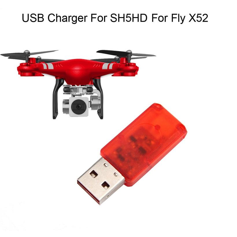 Omeshin USB Chargeur Pour SH5HD Pour FLY X52 RC Drone Quadcopter drop shipping 1127 livraison gratuite