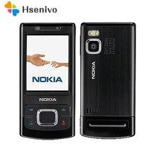 Разблокирована 6500 S оригинальный Nokia 6500 один core Slide сотовый телефон 3 г Bluetooth Mp3 плеер 3.15MP мобильного телефона Бесплатная доставка