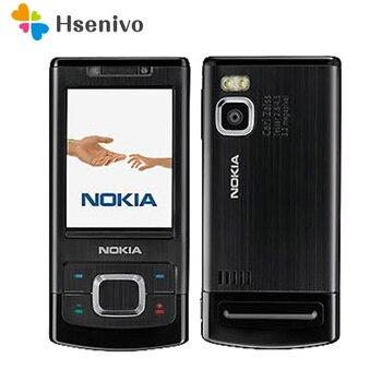 Unlocked 6500S Original Nokia 6500 Single Core Slide Cell Phone 3G Bluetooth Mp3 Player 3.15MP Mobile Phone refurbished phone