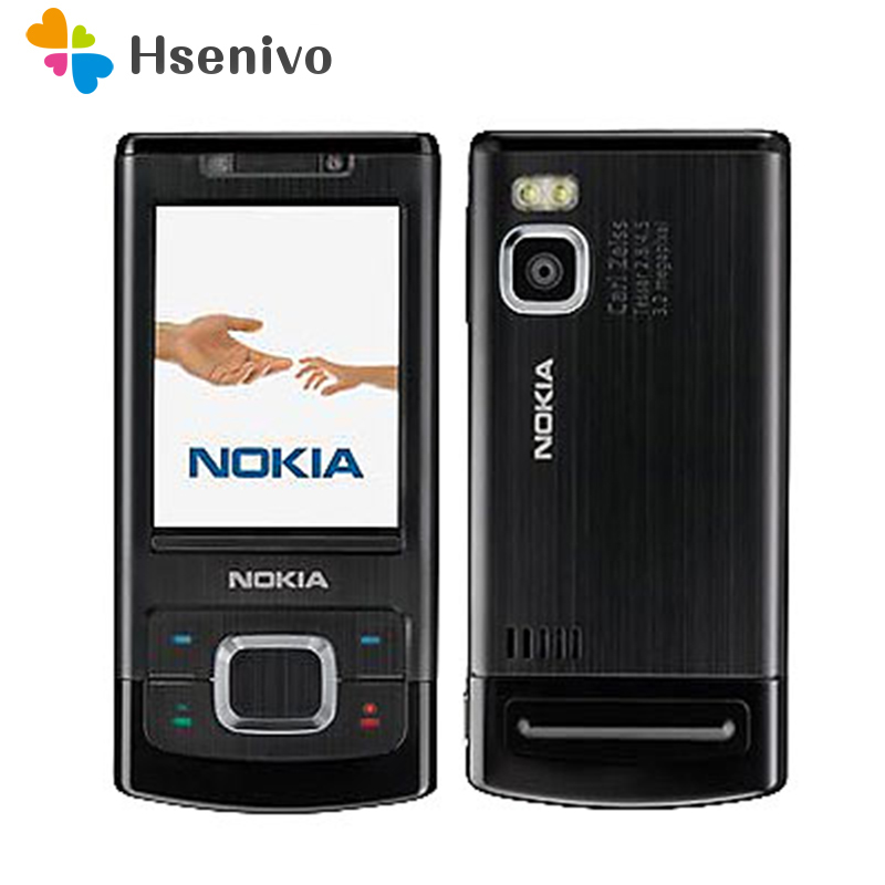 Unlocked 6500S Original Nokia 6500 Single Core Slide Cell Phone 3G Bluetooth Mp3 Player 3.15MP Mobile Phone refurbished phone image