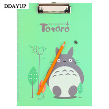 Multifunction Color File Clipboard A4 Folder Writing Pads Clipboard Clip File Document Office Supplies Stationery
