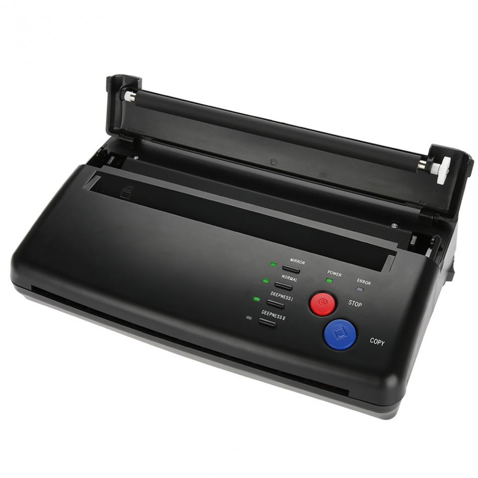 Image 4 - Tattoo Transfer Machine Printer Drawing Thermal Stencil Maker Copier for Tattoo Transfer Paper Supply permanet makeup machine-in Tattoo Stencils from Beauty & Health