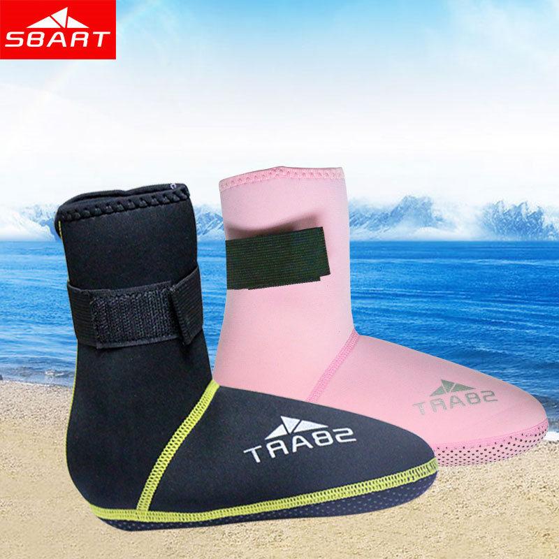 SBART 3mm Neopren Snorkel Sko Forhindre Ridser Anit-Vandmænd Opvarmende Scuba Diving Sokker Non-slip Wetsuit Beach Støvler I