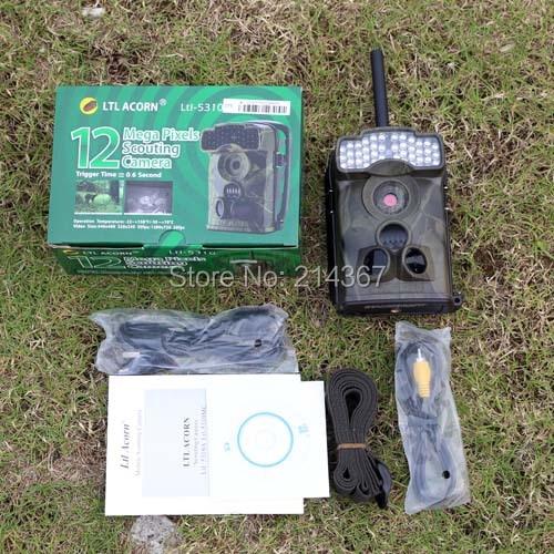 Ltl Acorn Ltl5310WMG 940nm Black IR Sightless GSM MMS Hunting Cameras Wide View Game Cameras Free Shipping ltl acorn 6210m hunting cameras security metal