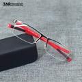 TAGHezekiah esportivos da marca óculos homens e mulheres óculos de meia armação de metal armações de óculos armações de óculos de miopia 0882 Negócios