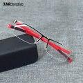 TAGHezekiah marca deportes gafas hombres y mujeres gafas medio marco de metal gafas de miopía marcos 0882 marcos de anteojos de Negocios