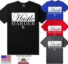34b961d31 Buy t shirt hustle and get free shipping on AliExpress.com