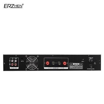 микрофон для караоке | Усилитель микрофона все-в-одном POS машина 602B 2-х канальный беспроводной Bluetooth Встроенный FM радио USB SD карты MP3 плеер Высокое под на