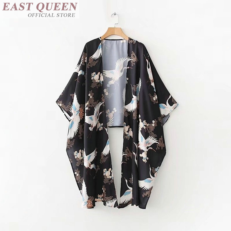 Aggressive Women Long Sleeve Cardigan Kimono Cardigan Kimono Robe Punk Casual Biig Tops Fashion Blouse Women 2017 Long Top Ff605 A Fine Workmanship Blouses & Shirts