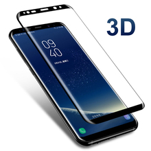 3D Full Cover Tempered Class For Samsung Galaxy S8 S9 Screen Protector Case For Galaxy S8 S9 S6 Edge Plus S7 Edge Note 8 9 Film все цены