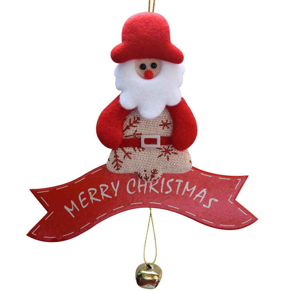 زينة شجرة أعياد الميلاد زينة عيد الميلاد الحلي عيد الميلاد مهرجان سانتا كلوز لوازم جميلة الحلي الهدايا SD402