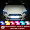 4x led canbus samsung 2835 chip luzes de apuramento para mitsubishi asx lancer 9 10 acessórios outlander pajero l200