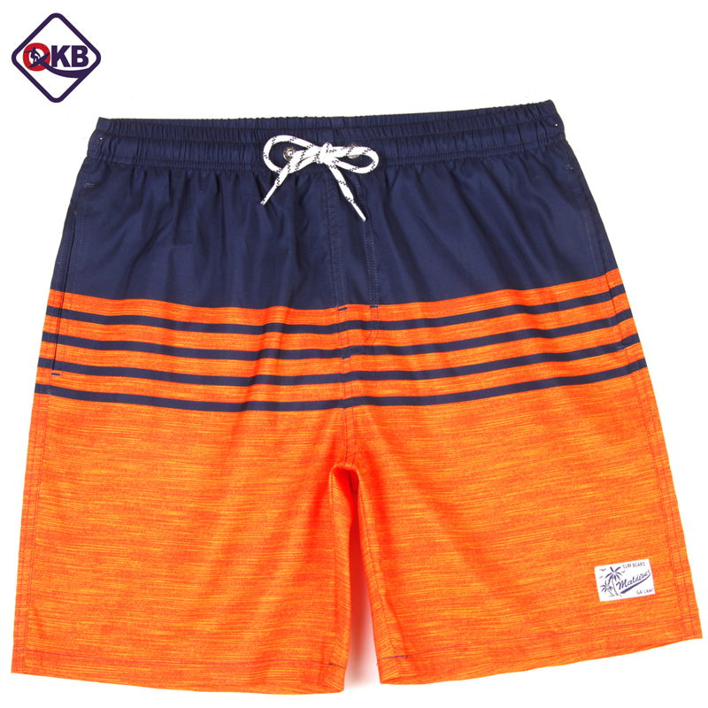 Qikerbong New Style S18 Men Stripe   Shorts   Summer   Shorts   Men Hot fashion Beach   Shorts   Men   Board     Shorts   Plus Szie M-XXXL