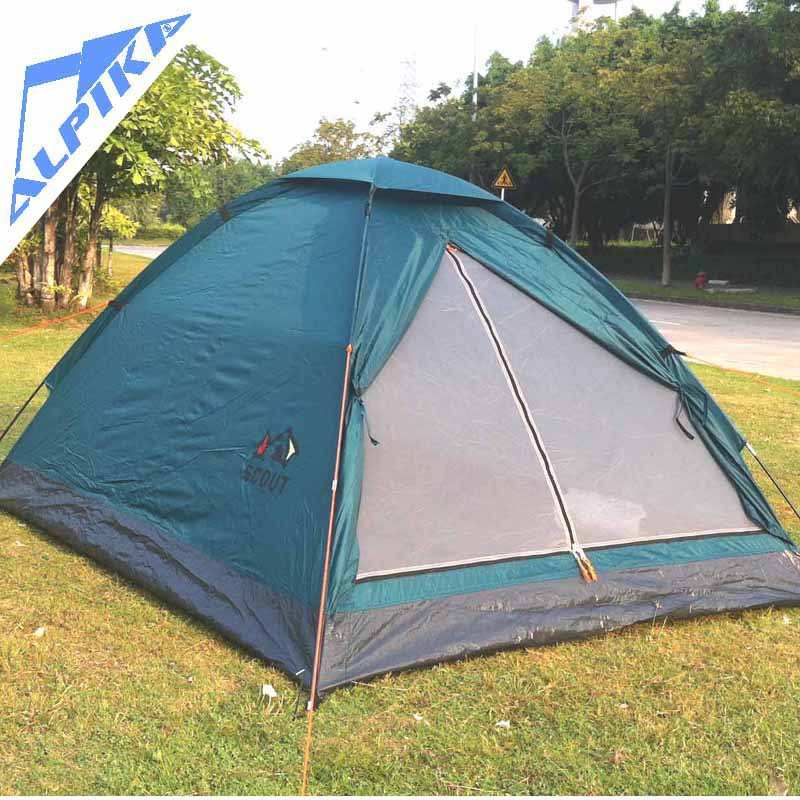 Hot sale 2 persons simple single c&ing tent with waterproof for outdoor c&ing tourist fishing-in Tents from Sports u0026 Entertainment on Aliexpress.com ... & Hot sale 2 persons simple single camping tent with waterproof for ...