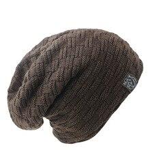 New Arrivals Fashion Men Women Warm Snow Winter Casual Beanies Solid 6 Colors Favourite Knit Hat Cap Hip Hop Casual Male Bonnet