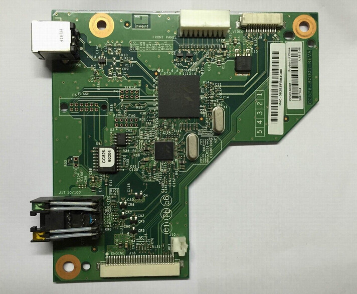 ФОТО CC526-60001 FIT For HP LaserJet P2035N Formatter Board with Network