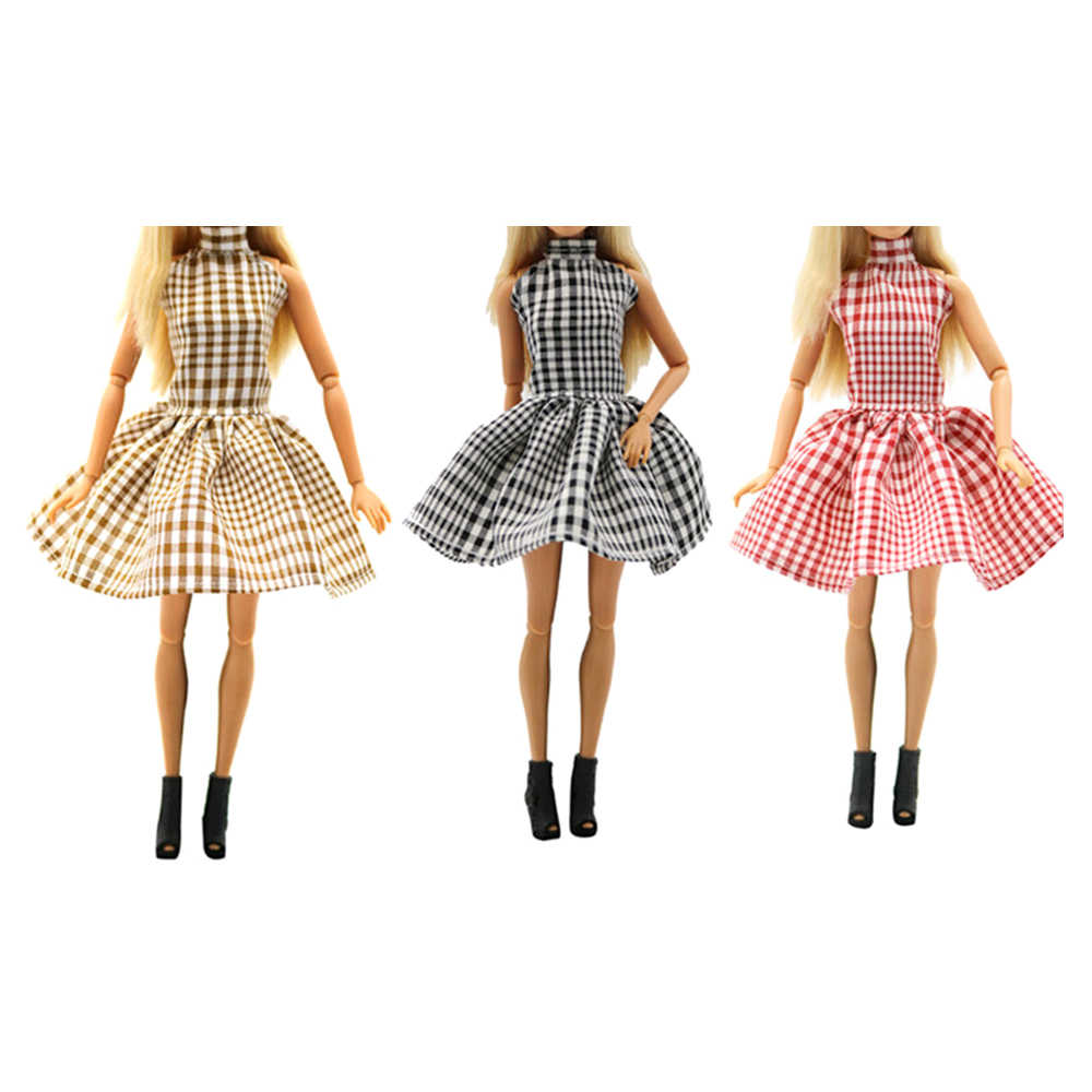 2019 Newest Doll Outfit Beautiful Handmade Party Clothes Top Fashion Dress For Mini Girl Doll Best Child Girls'Gift