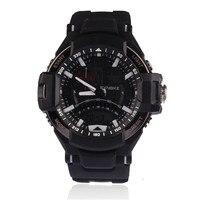 Durable Hot Sale New Multi Function Waterproof Military Digital LED Sports Wrist Quartz Watches Black Color