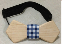 2015 Top Fashion High Quality Wooden Bow Tie Baby Tie Bowtie 1pcs Lot