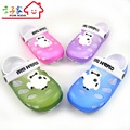 2016 Hot Sell Child boy slippers girl shoes hole shoes slip-resistant wear-resistant baby boy sandals Children Summer Slippers