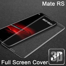 9H 3D Tempered Glass LCD For Huaiwei Mate R S Curved Full screen protec