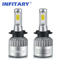 H7 LED H4 H1 H3 H11 H13 9005 9006 880 HB4 72W 8000Lm Car Headlights Front