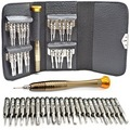 25 in 1 Repair opening Tool Kit Torx Phillips Screwdriver for Mobile Phone, PC Laptop, Macbook, Tablet , iPad, Computers